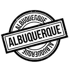 Albuquerque rubber stamp vector image