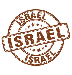Israel stamp vector