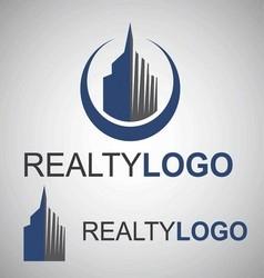 Realty logo 7 vector