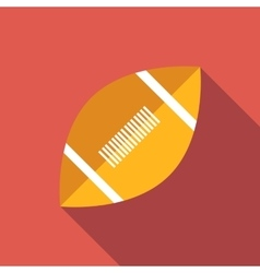 Rugby flat icon vector