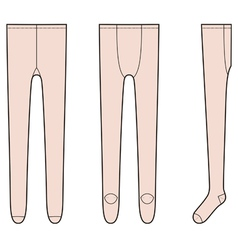 Tights vector