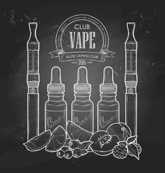vaporizer cigarette vector image