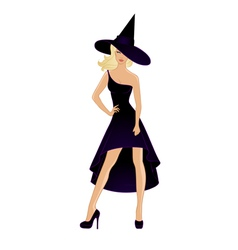 witch28 vector image