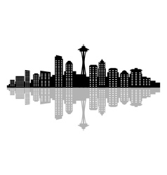 Seattle skyline vector