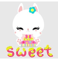bunny 29 vector image