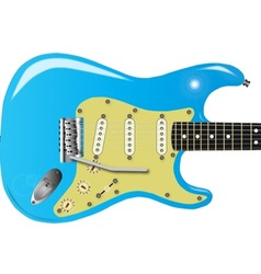 50s Electric Guitar vector image vector image