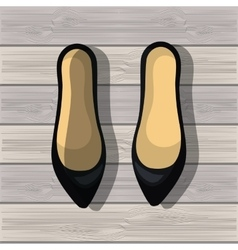 Shoes for woman design vector