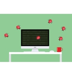 Malware virus security attack vector