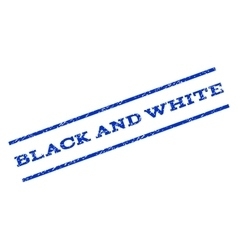Black and white watermark stamp vector