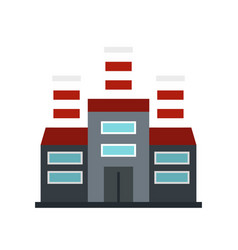 Refinery icon flat style vector
