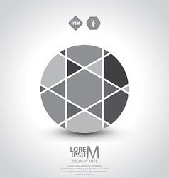 Segmented circle vector