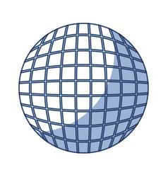 Round futuristic virtual technology vector