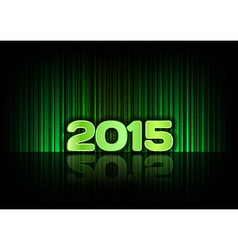 2015 abstract lines green vector