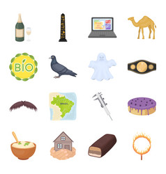Ecology religion animal and other web icon in vector