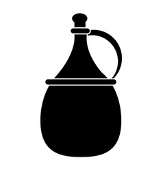 Wine carafe cork icon pictogram vector