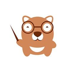 Funny character Baby bear vector image