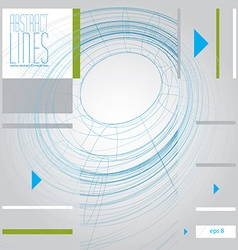 Abstract lines clear eps 8 vector image