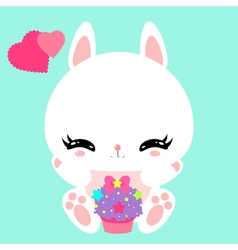 bunny 26 vector image