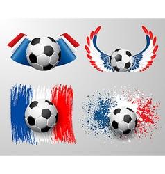 France football championship vector