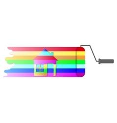 House renovation icon vector