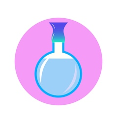 perfume in circle vector image vector image