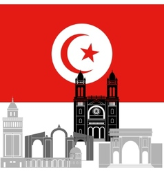 Tunisia vector