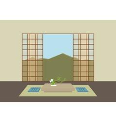 zen room vector image