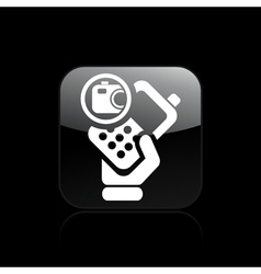 camera phone icon vector image