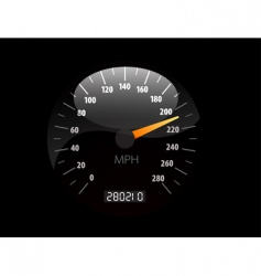 speedometer illustration vector image