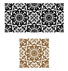 Arabic seamless ornament in retro style vector image vector image