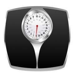 bathroom scale vector image vector image