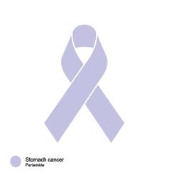 stomach cancer ribbon vector image