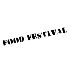 Food festival stamp vector