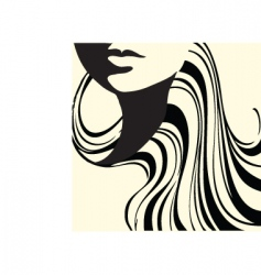 abstract beauty vector image