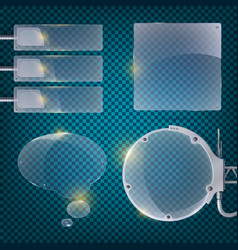 abstract business transparent background poster vector image vector image