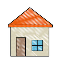 House symbol isolated vector