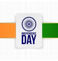 India independence day holiday banner template vector
