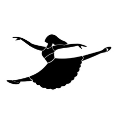 New dance simple symbol vector