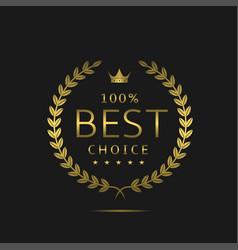 The best choice vector