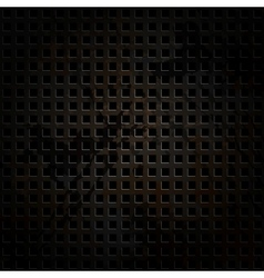 Old metal background with carbon texture vector