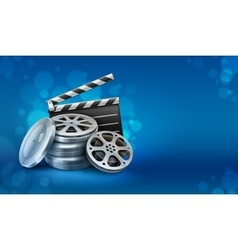 Movie film disks with vector