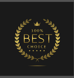 the best choice vector image