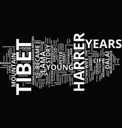 Years in tibet text background word cloud concept vector