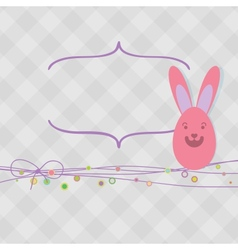 Easter card with copy space  EPS8 vector image