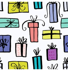 Unique christmas gifts design vector