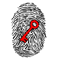 Fingerprint and key vector