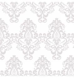 floral damask ornament pattern vector image