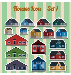 Houses icon setr elements for creating your vector