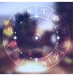 Magic circle vector