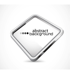 Metal plate with copy space vector